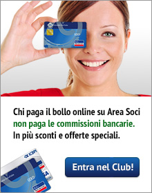 Associati online ed entra nel Club!